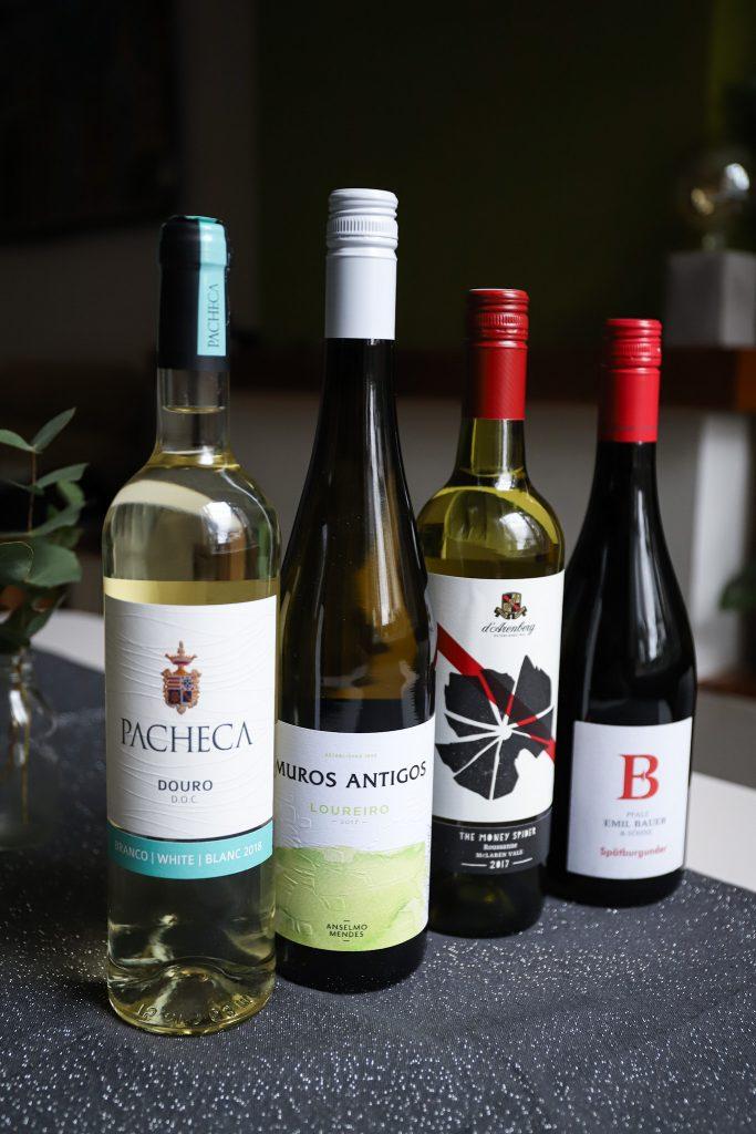 Wijnen 4 - gangen