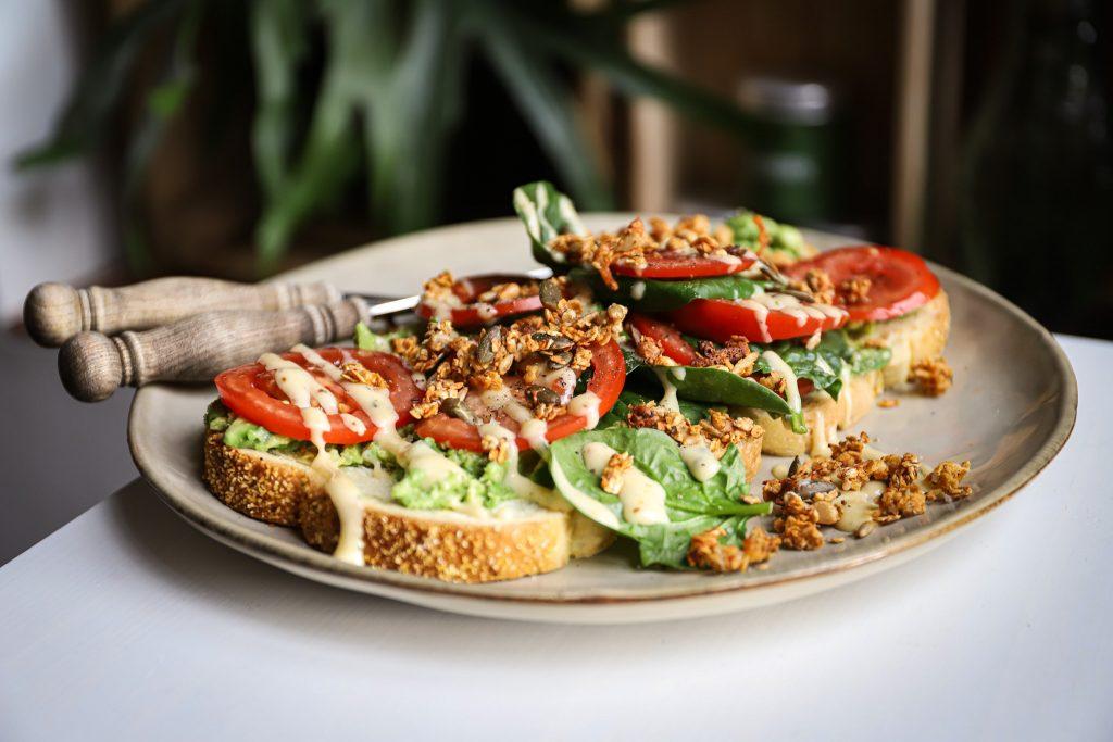 Lunch broodje hartige granola