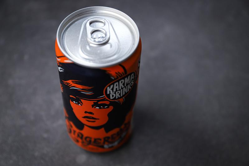 Karma drinks ginger beer