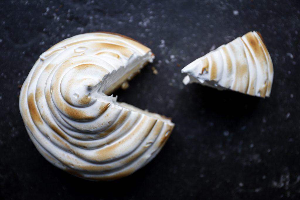 Packman meringue