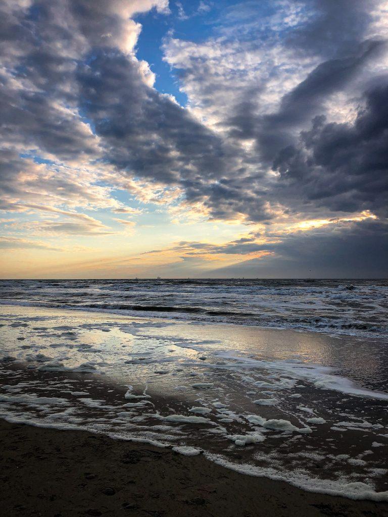 sunset Katwijk