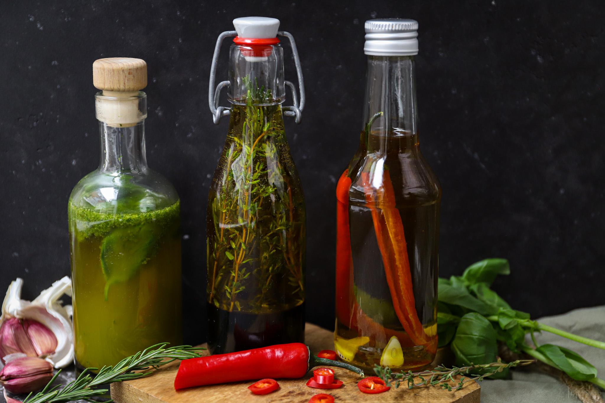 3 x infused olijfolie met Bertolli