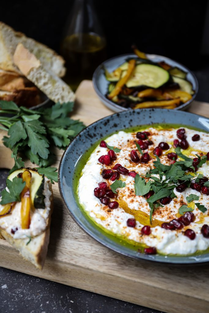Labneh close up