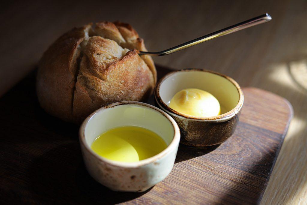 Broodje boter olie
