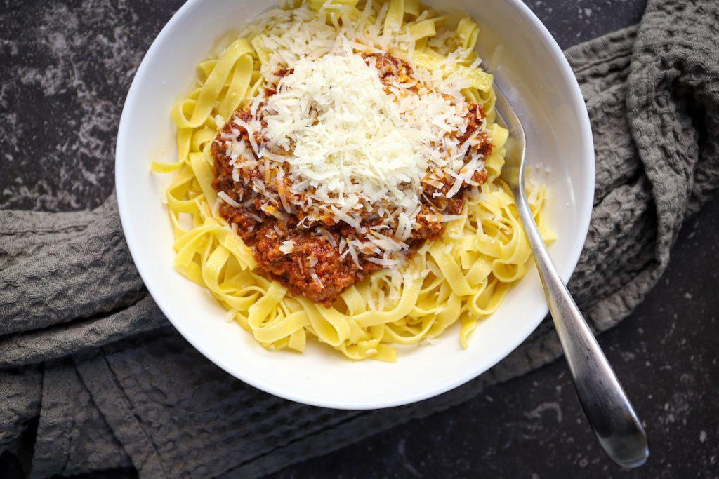 Meneer hap pasta