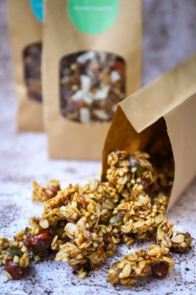 Homemade granola Leanne