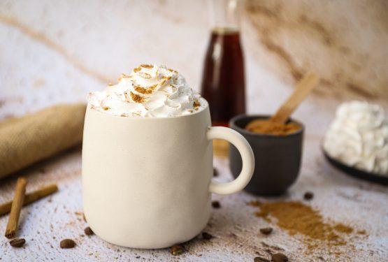 Pumpkin spice latte (100% plantaardig)