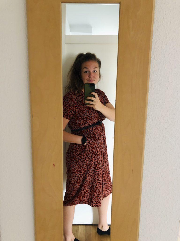 katoenen jurk Bristol