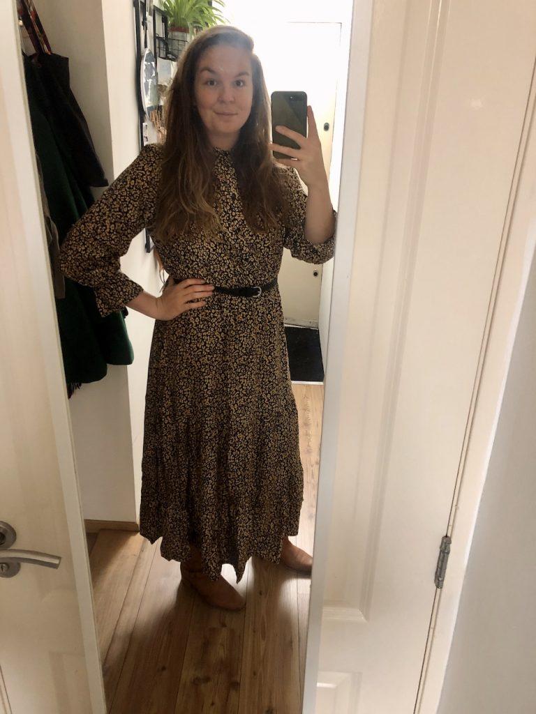 Luipaard jurk Bonpirx