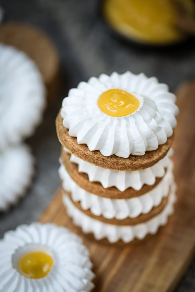 Lemon meringue koekjes