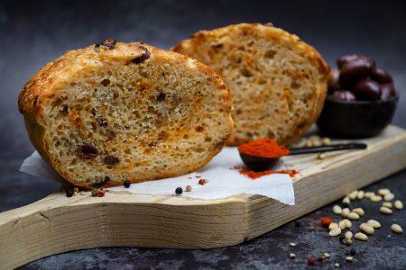 Hartig brood (zonder kneden)