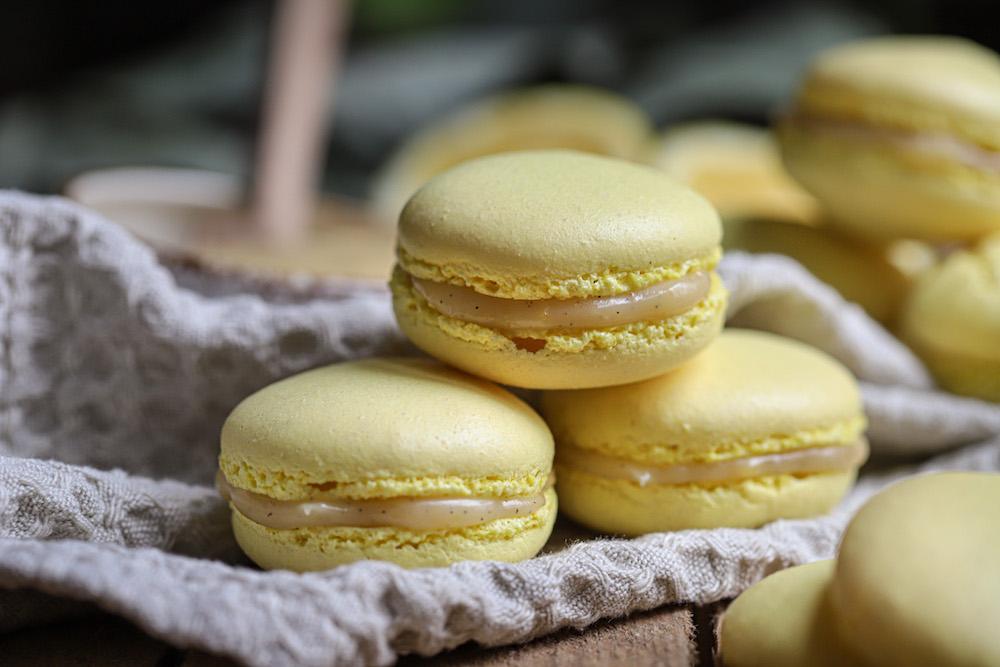 Frisse citroen vanille vulling