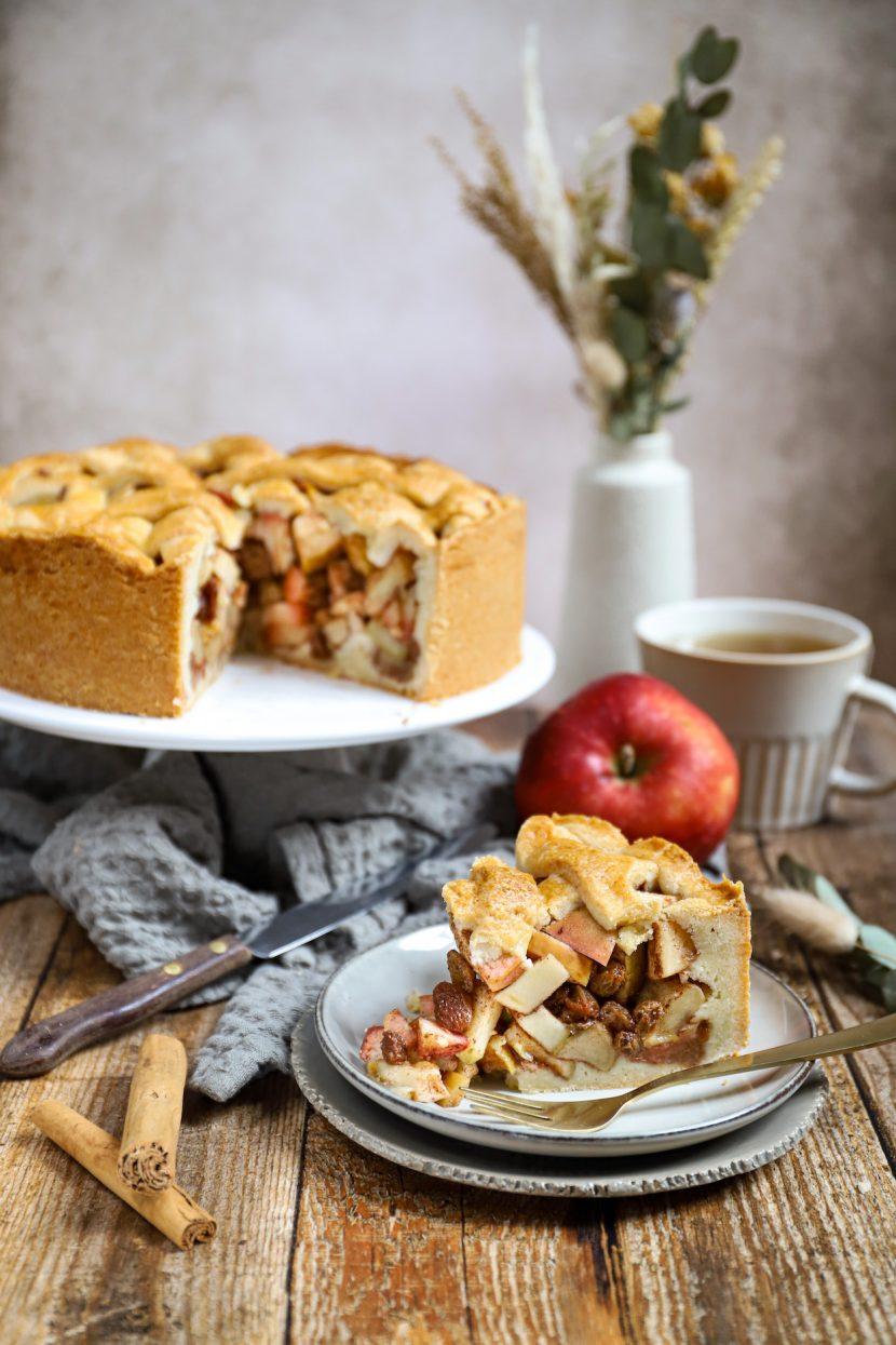 Oma's appeltaart, 100% vegan!